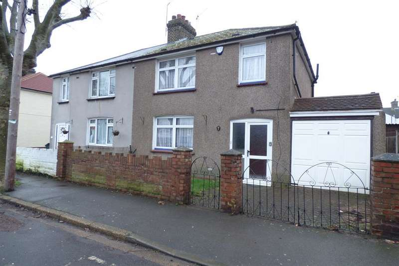 3 Bedrooms Semi Detached House for sale in Abbey Road, Greenhithe, Kent, DA9 9HD