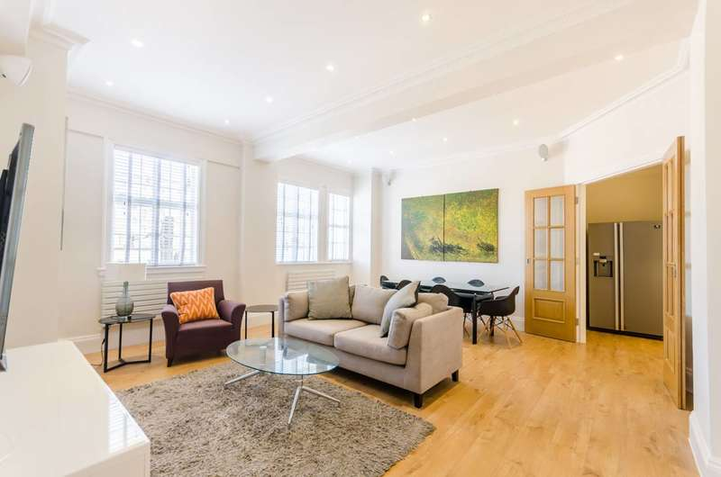 3 Bedrooms Flat for sale in Chiltern Court, Marylebone, NW1