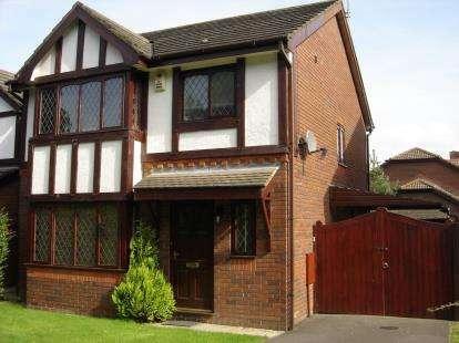 3 Bedrooms Detached House for sale in Foxwood Drive, Kirkham, Preston, Lancashire, PR4