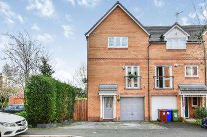 4 Bedrooms End Of Terrace House for sale in Lawnhurst Avenue, Baguley, Wythenshawe, Manchester