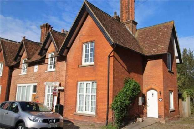 2 Bedrooms End Of Terrace House for sale in High Street, Chipstead, Sevenoaks, Kent