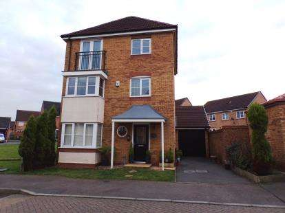 5 Bedrooms Detached House for sale in Stackyard Close, Thorpe Astley, Leicester, Leicestershire