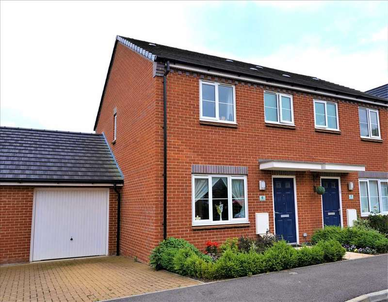 3 Bedrooms Semi Detached House for sale in Rimini Road, Andover
