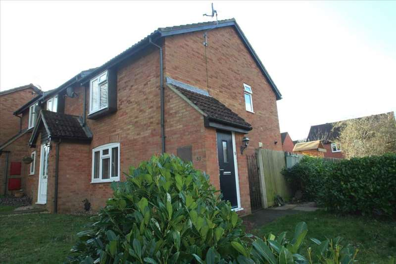 2 Bedrooms End Of Terrace House for sale in Lychpit, Basingstoke, Hampshire