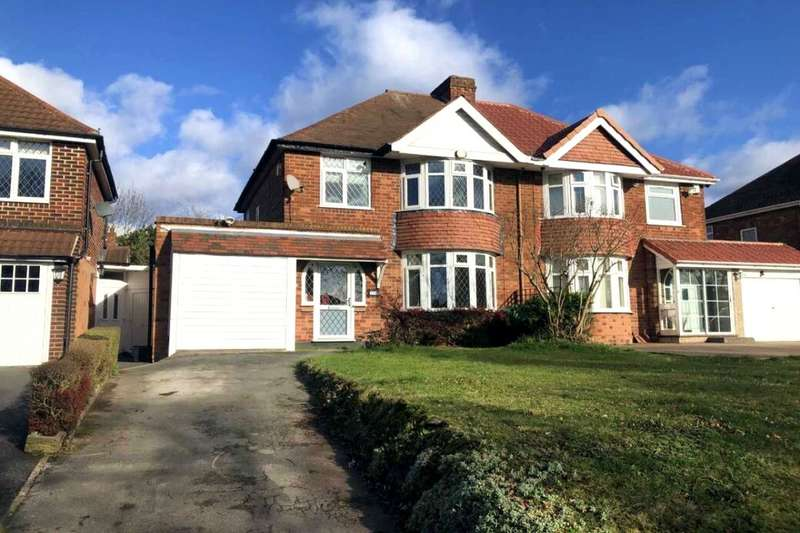 3 Bedrooms Semi Detached House for sale in Chester Road, Castle Bromwich, Birmingham, B36