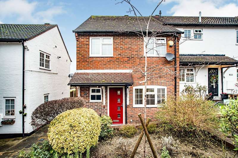 3 Bedrooms End Of Terrace House for sale in Chapel Cottages, Chapel Street, Hemel Hempstead, Hertfordshire, HP2