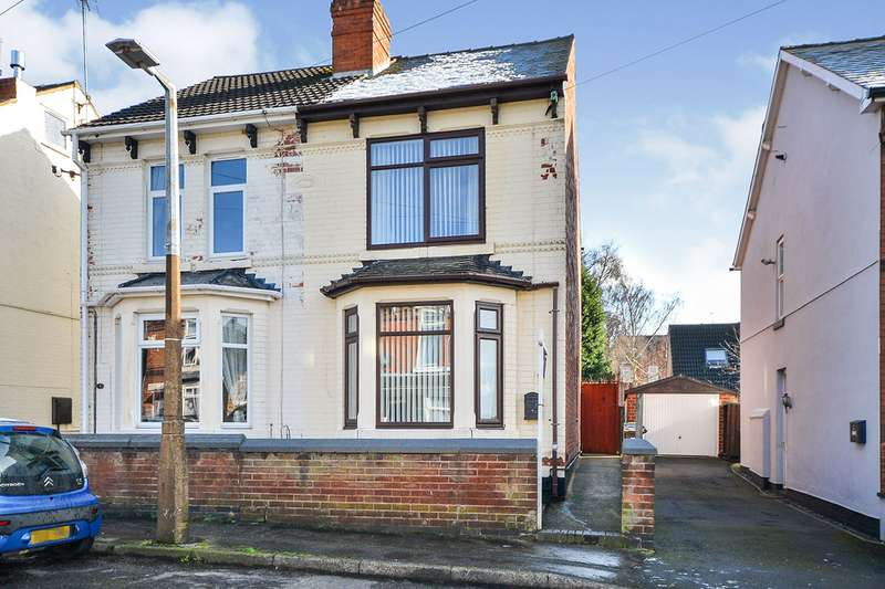 3 Bedrooms Semi Detached House for sale in Crocus Street, Kirkby-in-Ashfield, Nottingham, Nottinghamshire, NG17