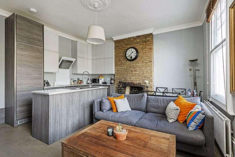 2 Bedrooms Flat for sale in Battersea Rise, Battersea, London, SW11