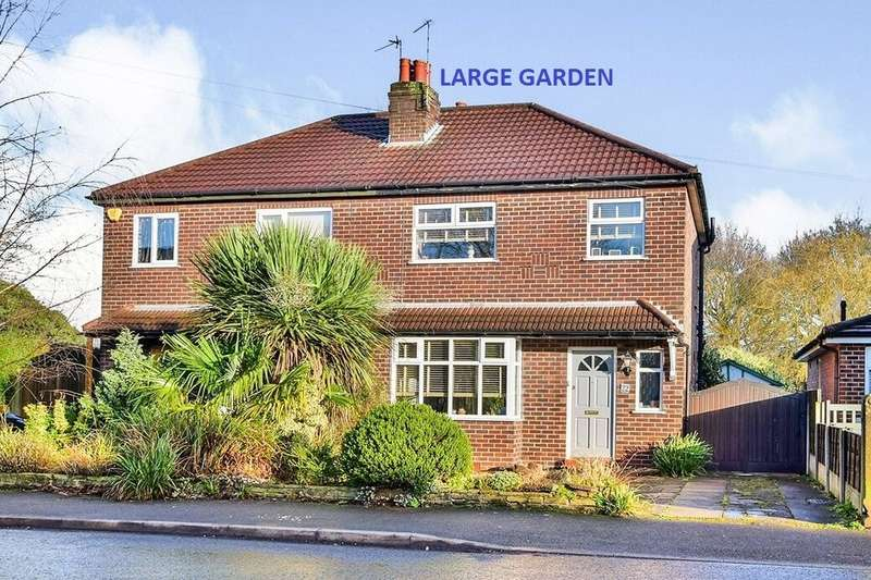 3 Bedrooms Semi Detached House for sale in Barlow Road, Wilmslow, SK9