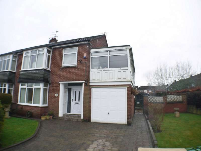 4 Bedrooms Semi Detached House for sale in Ryton Hall Drive, Old Ryton Village, NE40