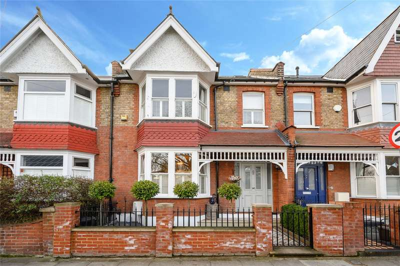 3 Bedrooms Terraced House for sale in Wellington Road, Wimbledon Park, London, SW19