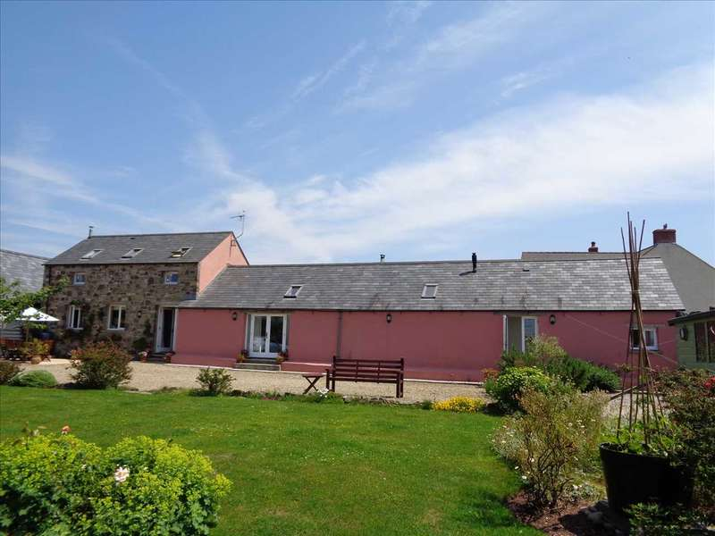 4 Bedrooms Detached House for sale in Little Neath Barn, Near Angle, Nr. Pembroke