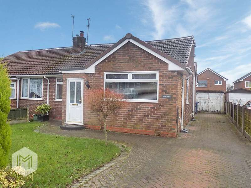 3 Bedrooms Semi Detached Bungalow for sale in Ridgmont Drive, Worsley, Manchester, Greater Manchester, M28
