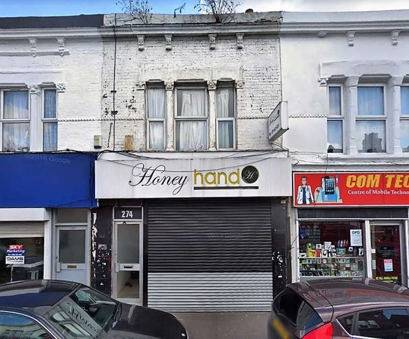 Terraced House for sale in High Road Leytonstone, London, E11