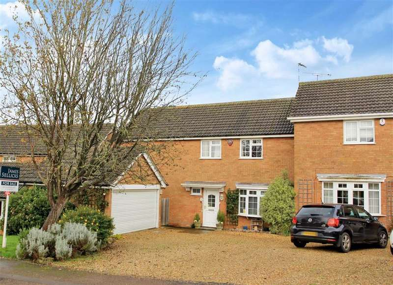 4 Bedrooms Link Detached House for sale in Winckley Close, Houghton On The Hill, Leicester