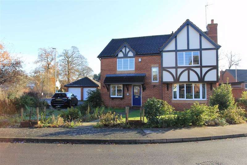 4 Bedrooms Detached House for sale in Widford Close, Humberstone, Leicester
