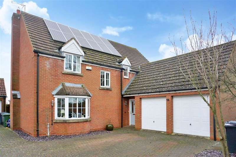 4 Bedrooms Detached House for sale in Millennium Close, North Kilworth, Lutterworth