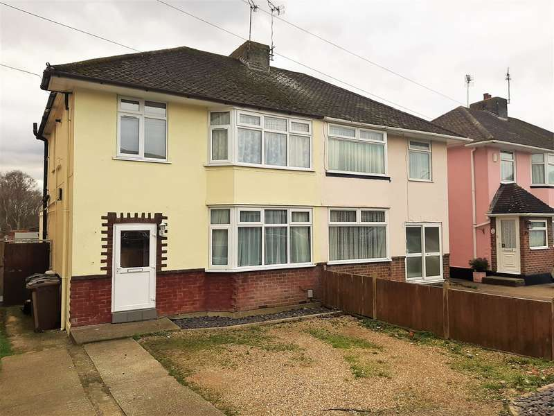3 Bedrooms Semi Detached House for sale in Osborne Road, Ashford, TN24