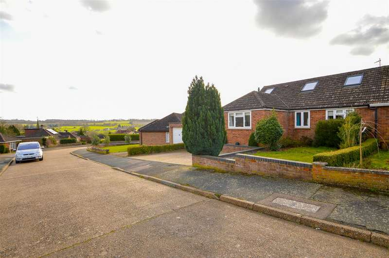 4 Bedrooms Semi Detached House for sale in Courtlands, Teston, Maidstone