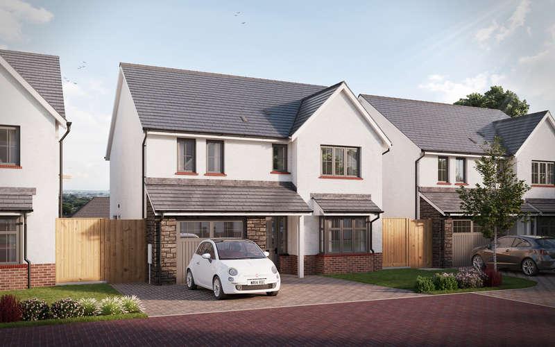 4 Bedrooms Detached House for sale in The Terfel, Colman Vale, Pen-Y-Fai, Bridgend, Bridgend County Borough, CF31 4BX