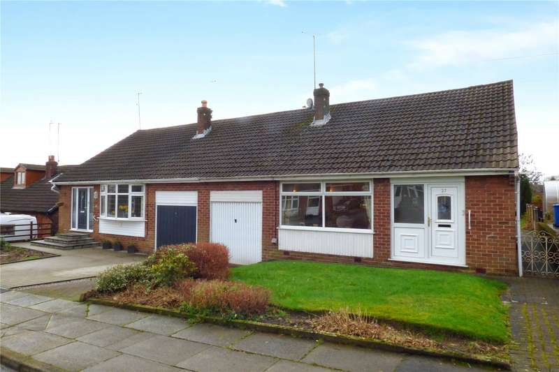 2 Bedrooms Semi Detached Bungalow for sale in Keepers Drive, Norden, Rochdale, Greater Manchester, OL12