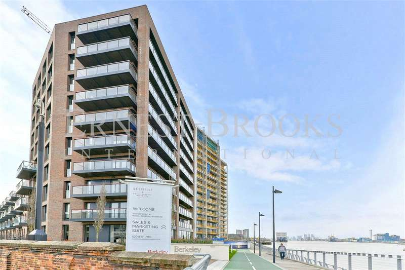 2 Bedrooms Apartment Flat for sale in Waterfront III, Royal Arsenal Riverside, London, SE18