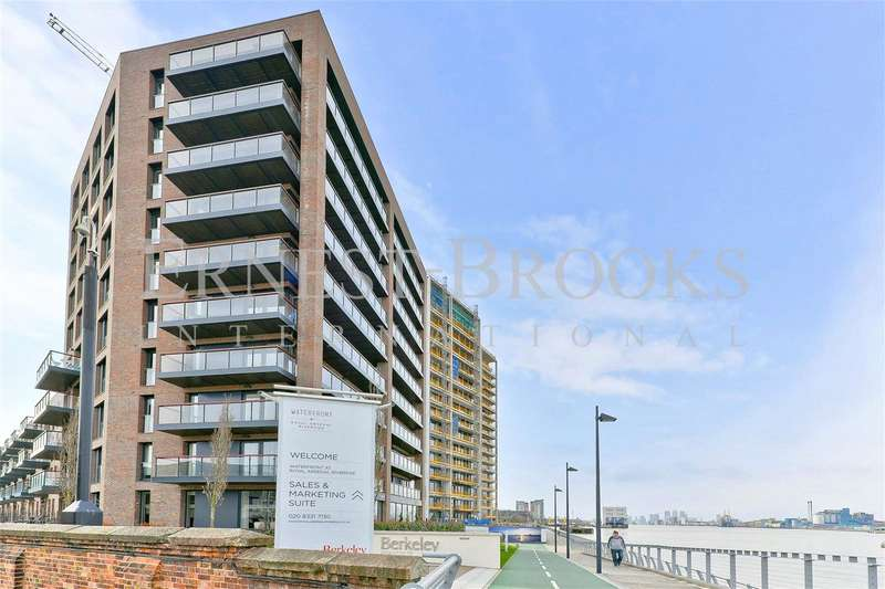 2 Bedrooms Apartment Flat for sale in Navigator Wharf, Royal Arsenal Riverside, SE18