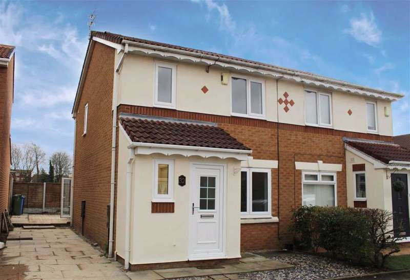 3 Bedrooms Semi Detached House for sale in Saxon Drive, Droylsden, Manchester
