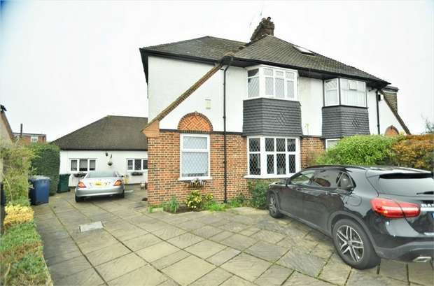 4 Bedrooms Semi Detached House for sale in Croft Close, Mill Hill, NW7