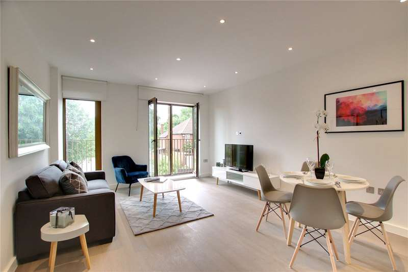 2 Bedrooms Flat for sale in Ziggurat House, Grosvenor Road, St Albans, AL1