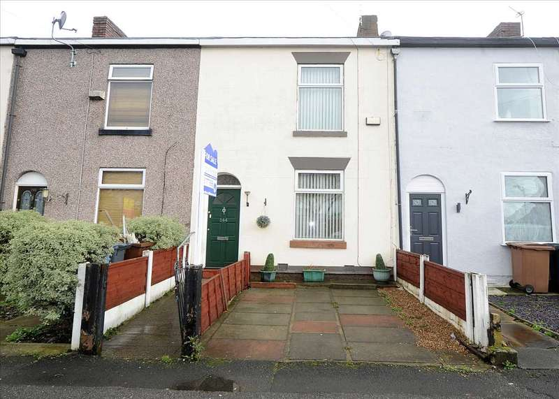 2 Bedrooms Terraced House for sale in 244 Peel Green Road, Peel Green M30 7BU