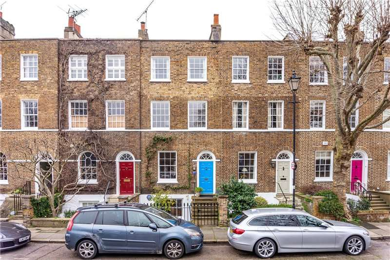 3 Bedrooms Terraced House for sale in Cleaver Square, Kennington, London, SE11