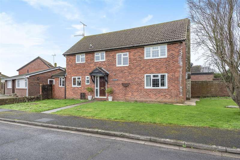 4 Bedrooms Detached House for sale in The Paddocks, Upper Beeding, Steyning