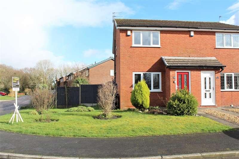 2 Bedrooms Semi Detached House for sale in Grange Drive, Hoghton, Preston