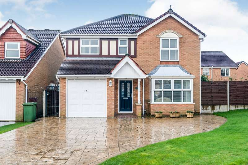 4 Bedrooms Detached House for sale in Hunter Drive, Radcliffe, Manchester, Greater Manchester, M26