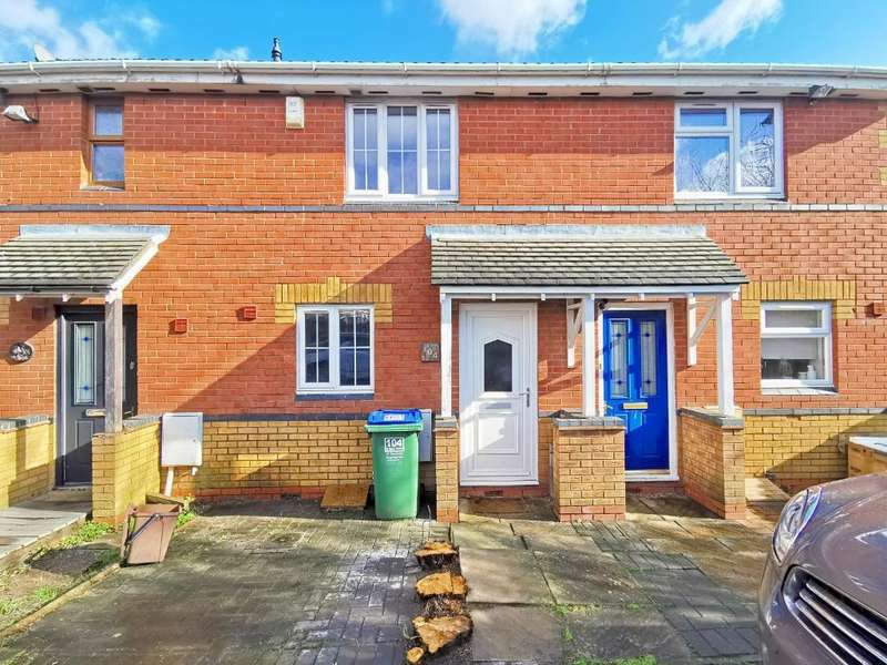 2 Bedrooms Terraced House for sale in ST HELENS AVENUE, TIPTON, WEST MIDLANDS, DY4 7LR