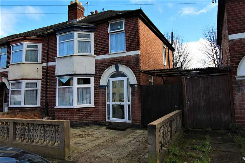 3 Bedrooms Semi Detached House for sale in Jellicoe Road, Leicester
