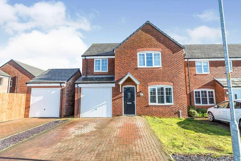 4 Bedrooms Detached House for sale in Walnutwood Avenue, Bamber Bridge, Preston, PR5
