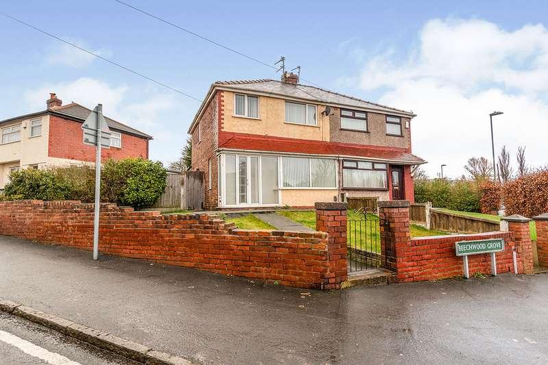 3 Bedrooms Semi Detached House for sale in Beechwood Grove, Prescot, Merseyside, L35