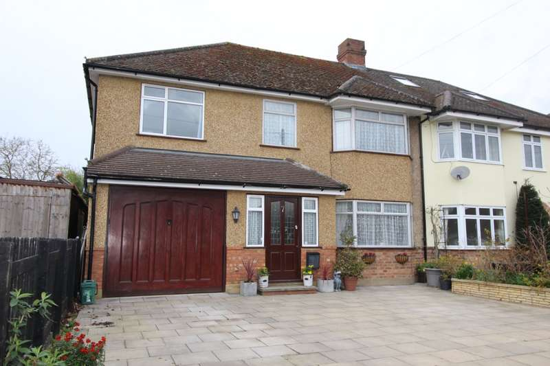 5 Bedrooms Semi Detached House for sale in Holland Gardens, Thorpe, Egham, Surrey, TW20