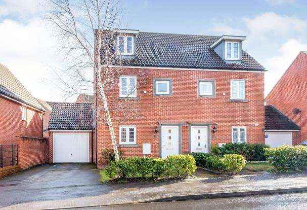 3 Bedrooms Semi Detached House for sale in Marnel Park, Basingstoke, Hampshire