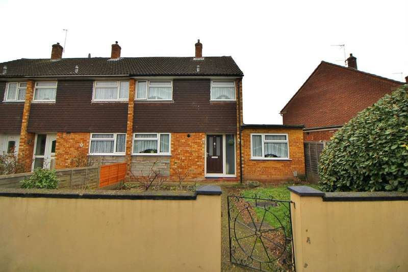 3 Bedrooms End Of Terrace House for sale in Rowlands Close, Cheshunt, Waltham Cross