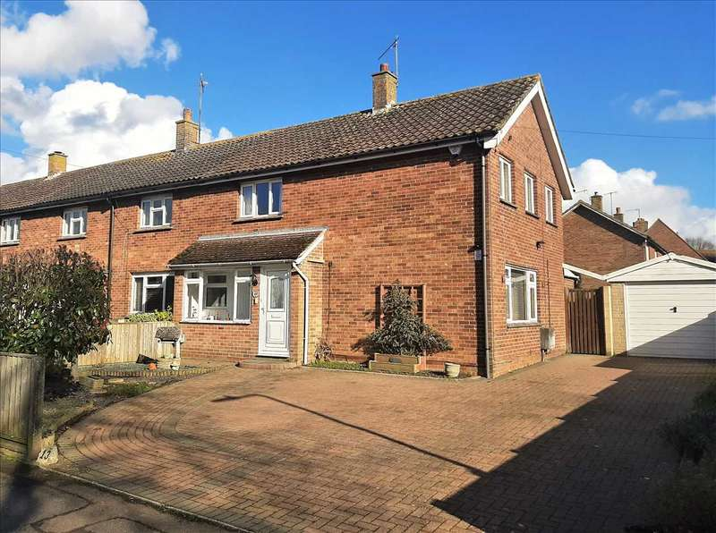 3 Bedrooms End Of Terrace House for sale in Little Chequers, Wye, Ashford, Kent, TN25