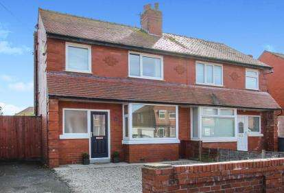 3 Bedrooms Semi Detached House for sale in Collingwood Avenue, Lytham St Anne's, Lancashire, FY8