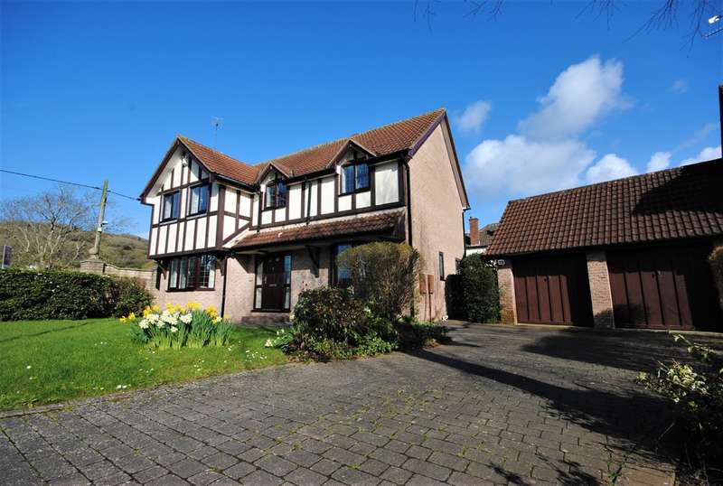 4 Bedrooms Detached House for sale in The Chestnuts, Cheddar