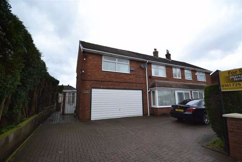 5 Bedrooms Semi Detached House for sale in Bury Road, Manchester, M26