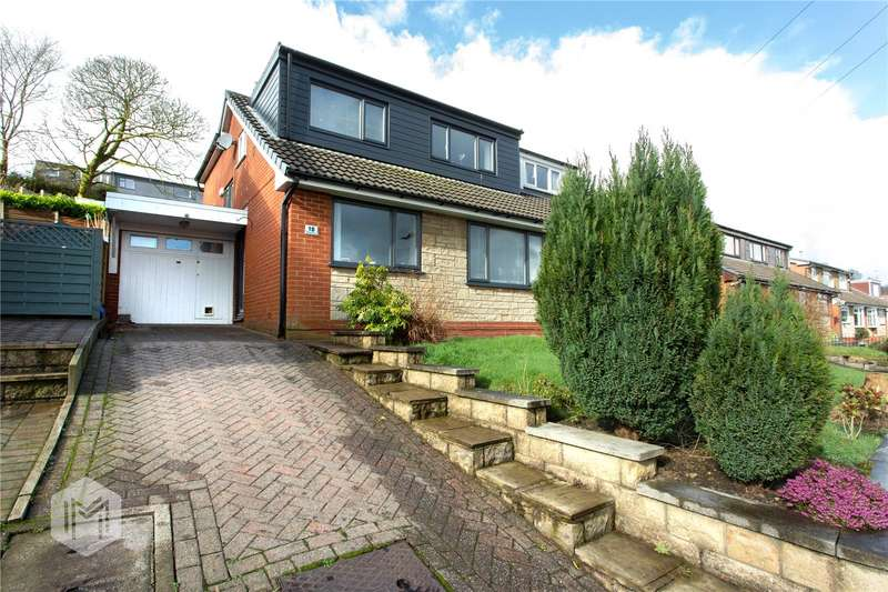 4 Bedrooms Semi Detached House for sale in Windermere Drive, Ramsbottom, Bury, Greater Manchester, BL0