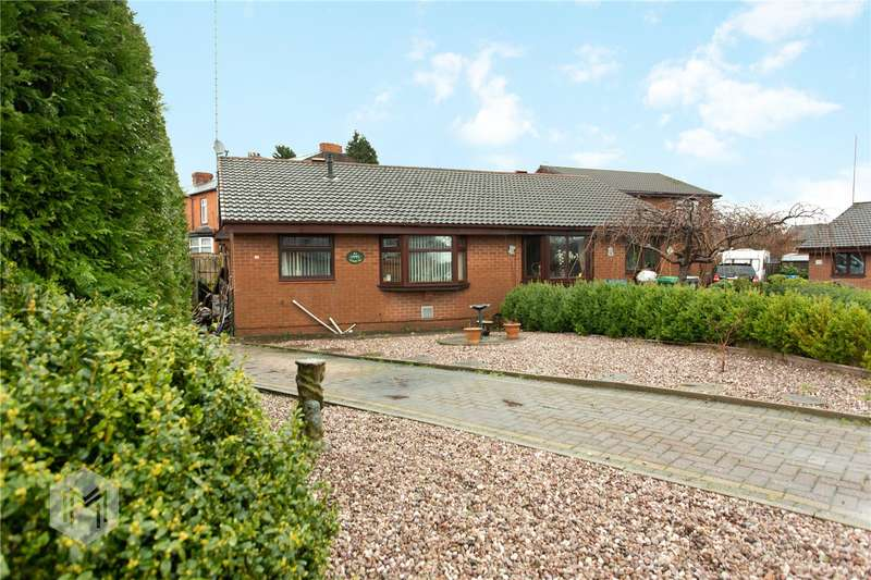 2 Bedrooms Semi Detached Bungalow for sale in Violet Way, Middleton, Manchester, Greater Manchester, M24