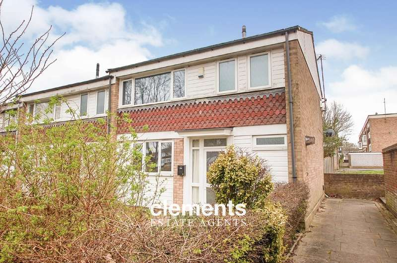 3 Bedrooms End Of Terrace House for sale in Basildon Square, Hemel Hempstead