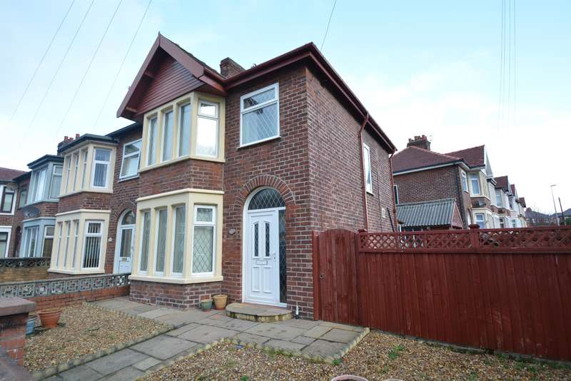 3 Bedrooms Semi Detached House for sale in Baldwin Grove, Blackpool, FY1 6QF
